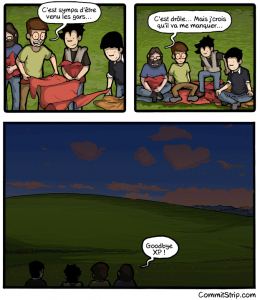 CommitStrip Windows XP